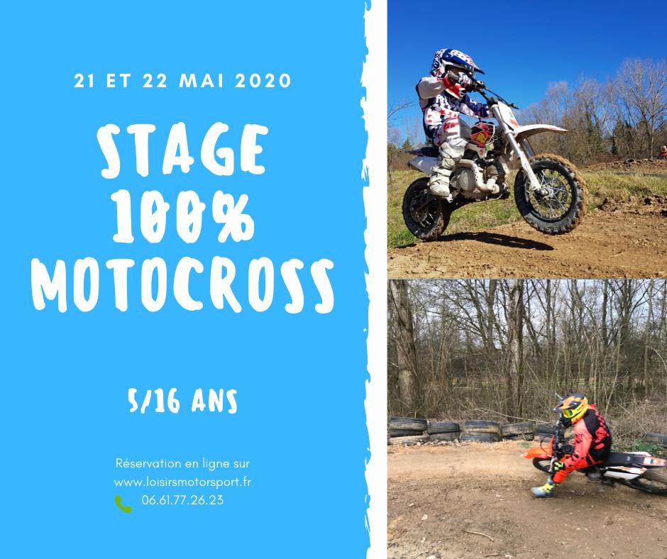 Stage 100% Moto cross LYON - VILLEFRANCHE