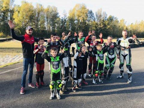 Stage moto vitesse circuit karting pont d'ain