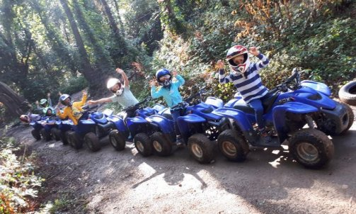 Initiation quad enfant Anse