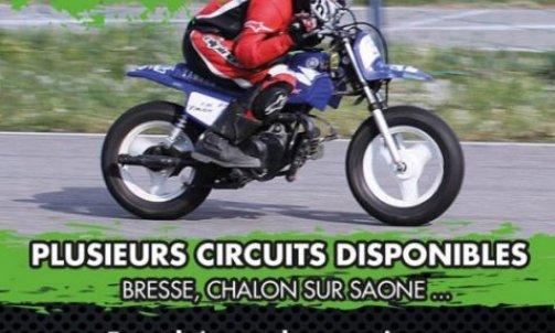 Stage moto piste enfant Anse