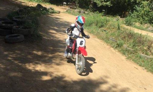 Colonie de vacance  motocross