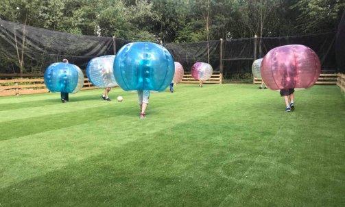 Séminaire sportif Bubble Foot Villefranche sur sàone au nord de Lyon
