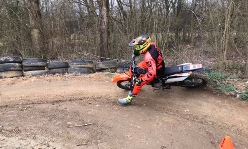 Stage moto cross - le virage relever