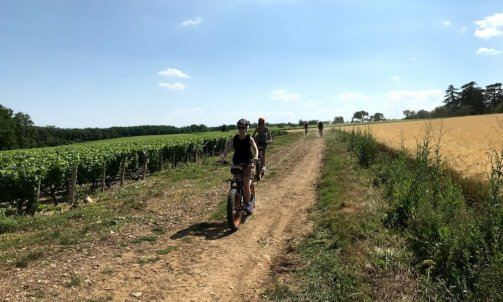 E-trottinette tout terrain Anse-Beaujolais Pierre Dorée