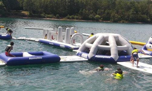 colonie de vacance quad avec baignade